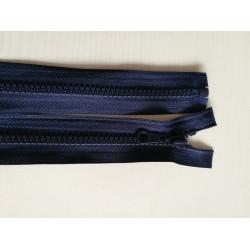 Atsegamas tamsiai mėlynas užtrauktukas 45 cm