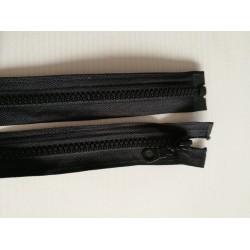 Atsegamas juodas užtrauktukas 45 cm