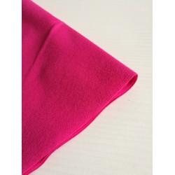 """Plonas ribb trikotažas 1x1 """"Ryški rožinė"""""""