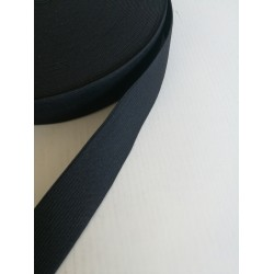 Elastinė juosta - guma 25mm juoda