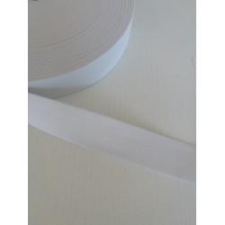 Elastinė juosta - guma 25mm balta