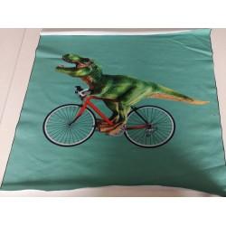 """Motyvas """"Dinozauras ant dviračio"""""""
